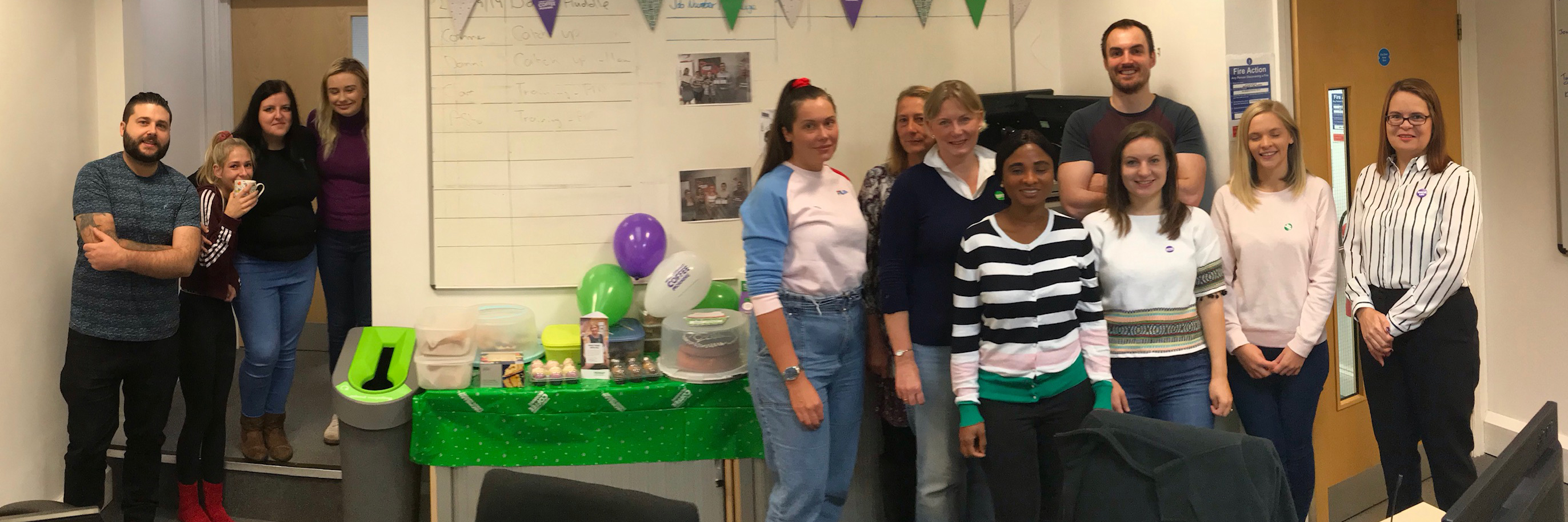 Opals Group raises over £100 for Macmillan's World's Biggest Coffee Morning