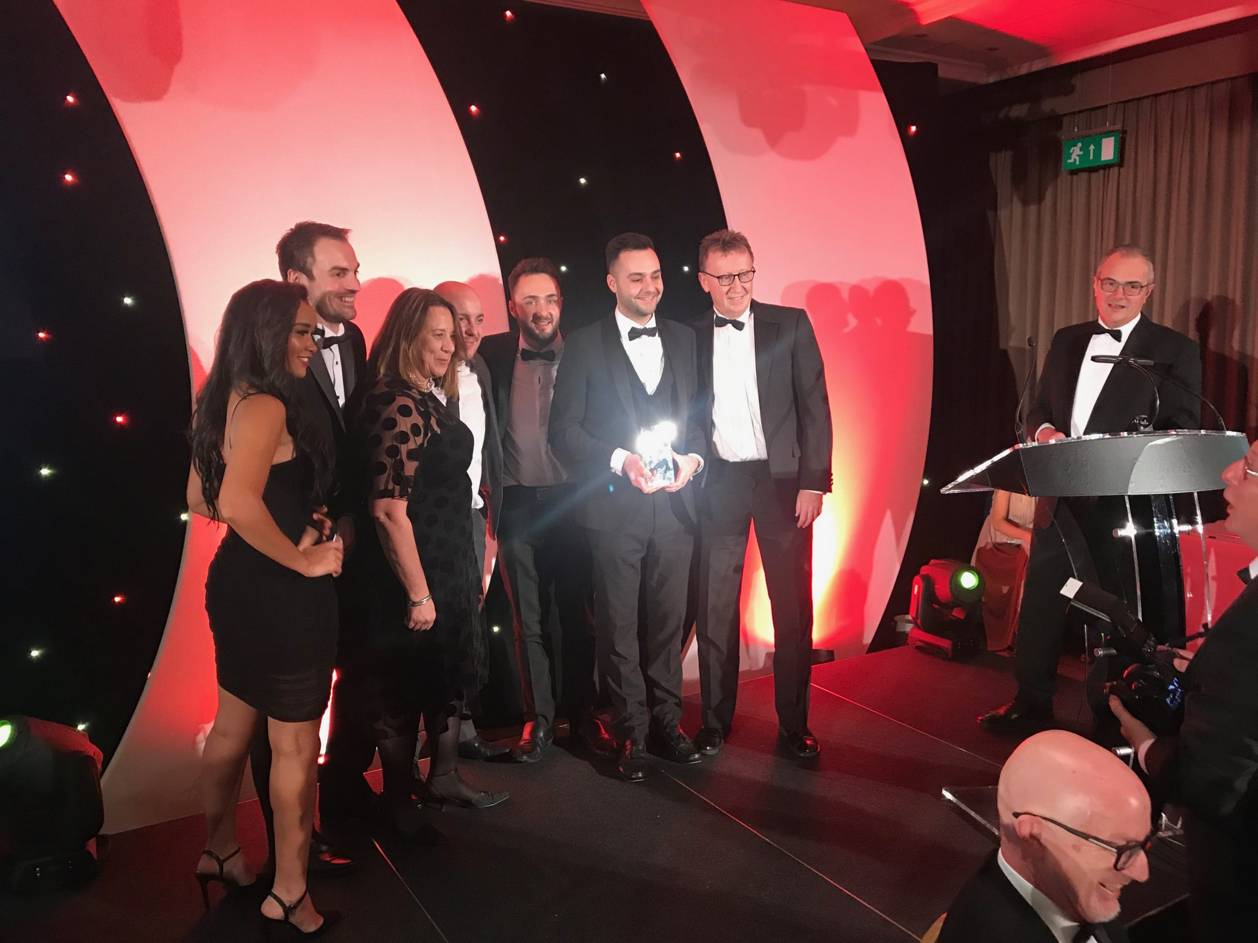 """Opals Group Awarded """"Medium Business of the Year"""" 2019 at the Peterborough Telegraph Business Excellence Awards"""